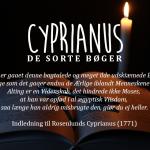 Cyprianus: De sorte bøger