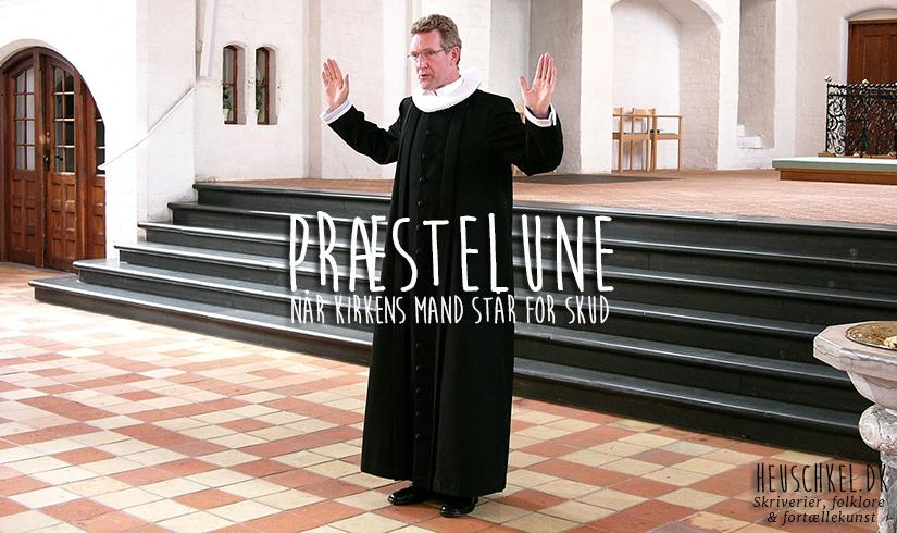 Præsten står for skud.